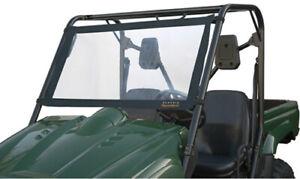 Classic Accessories QuadGear UTV Windshield (Black, Medium Clear Universal 78627