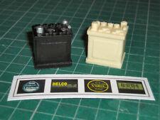 Resin Battery for 1/8 scale DeAgostini VW Samba kit