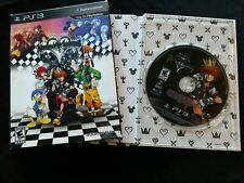 PS3 Kingdom Hearts HD 1.5 ReMIX Limited Edition Art book Sony PlayStation