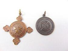 Royal Life Saving Society 1958 médaille et St Johns abulance médaille-C.K. Kaylor