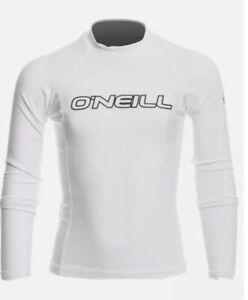 O'Neill Premium Skins Upf 50+ Long Sleeve Rash Guard Boys 8 Swim Top Performance