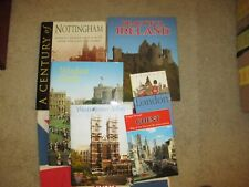 Lot England UK London + Ireland Souvenir Travel Books, and Keep Calm Tote, NWT
