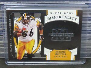 2020 National Treasures Jerome Bettis Super Bowl Immortality #SB-45 R138
