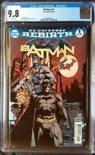 Batman (2016 3rd Series) #1 DC Universe Rebirth CGC 9.8