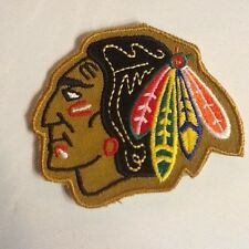 "CHICAGO BLACK HAWKS 3.25"" by 3"" Patch"