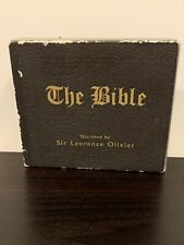 The Bible - 6 CD - Box Set Narrated by Sir Laurence Olivier Rare