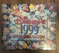 Disney 1999 Mini Bean Bag Calendar New Sealed The Disney Store