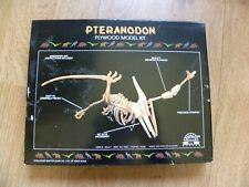 Pterandon Dinosaur Plywood Model Kit by Challenge Master Game - New Sealed