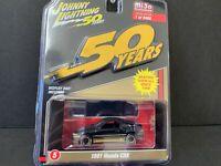 Johnny Lightning Honda CRX 1991 Black and Gold Series JLCP7197 1/64