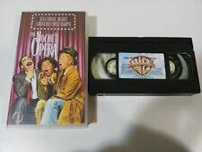 THE MARX BROTHERS UNA NIGHT EN LA OPERA GROUCHO BOY HARPO VHS TAPE SPANISH