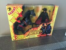 Ideal Zorro Deluxe Playset Action Figure 1998 Brand New In Open Box RARE LOOK!!