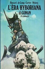 Robert E.Howard CONAN saga quasi completa FANTACOLLANA NORD 1°ED. 9 volumi