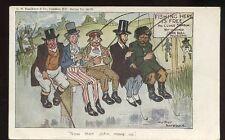 Political FISHING Arthur Moreland Comic John Bull  1905 PPC Free Trade debate