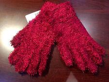 Women's Jeanne Simmons Winter Sports  Fashion Wrist Gloves MAROON one Size NEW