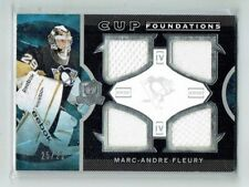 12-13 UD The Cup  Marc-Andre Fleury  25/25  Last Card  Quad Jerseys  All-Star