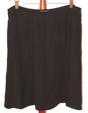 George Womens Plus 22W Black A-line Panel Skirt Dress Career NWT by Mark Eisen