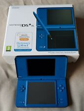 Blue DSi XL Console + 42 All Time Classic Games + Charger in Original Box