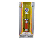 PONTIAC GASOLINE VINTAGE GAS PUMP CYLINDER 1/18 SCALE BY ROAD SIGNATURE 98662
