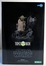 """In STOCK Kotobukiya Star Wars """"Yoda"""" Artfx 1:7 Empire Strikes Back Statue"""