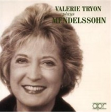 Valerie Tryon Plays Mendelssohn (Tryon)  CD NEW
