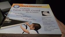 Prince Lionheart Cushiony Table Edge Guard With 2 Corners Neutral -  12 Ft