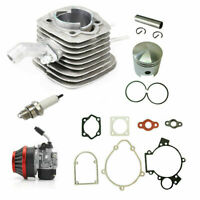Motorized Bike 80cc Engine Rebuild Kit Cylinder Piston Carburetor Spark Plug New