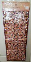 "Jaipur Market Table Runner 13"" x 72"" Floral Mosaic"