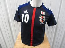 VINTAGE ADIDAS JAPAN NATIONAL FOOTBALL TEAM Kagawa #10 YOUTH LARGE SEWN JERSEY