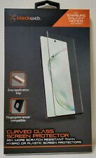 """Blackweb Samsung Galaxy Note10 Curved Glass Screen Protector (6.3"""" Screen) New"""