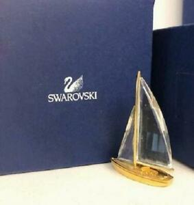 Swarovski Crystal Sailing Boat Sailboat Boxed 9460 NR 000050