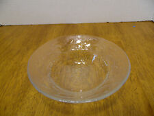 Arcoroc Clear Glass Holly Tree Christmas Bowl Cereal Salad Dessert