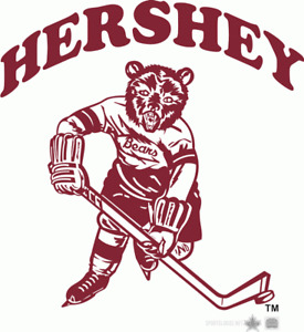 Hershey Bears AHL Hockey Vintage Logo Mens Embroidered Polo XS-6XL, LT-4XLT New