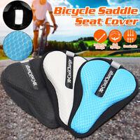 Bike Bicycle Seat Saddle Cover Extra Comfort Padding Soft Gel Cushion Outdoors