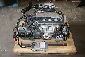 1996-2000 Honda Civic 1.6L D16Y8 SOHC V-TEC Engine Automatic Transmission  A/T