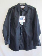 Men's Blauer Police Security Uniform Shirt LS Dark Navy - Size L - New NWT