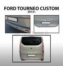 Rear Bumper Sill Cover Steel For Ford TOURNEO CUSTOM 2012-19 Transit Custom