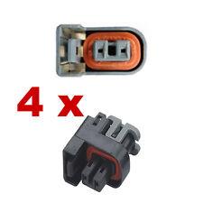 Fuel Injection Connectors - DELPHI (4 x FEMALE) injector plug tuning fcc auto