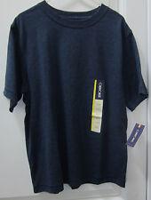 Heather Blue Cherokee Size 7 Boys Basic T-Shirt with Pocket