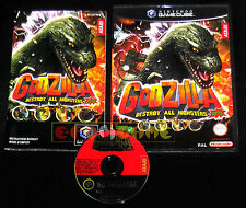 GODZILLA DESTROY ALL MONSTERS MELEE GameCube Versione Italiana  ••••• COMPLETO