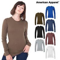 American Apparel Baby thermal long sleeve tee (T407) - Warm Winter top Underwear