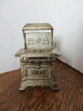 "Doll House ROYAL Cast Iron Wood Burning Cast Stove 1:12 4.25"" x 3"" x 2.5"" Rare!"