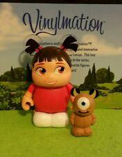 DISNEY VINYLMATION Park Pixar Set 2 - Boo And Mike Jr - Monsters Inc.
