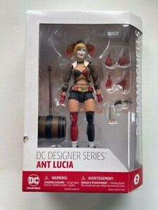 DC Comics Designer Series NISB DC Bombshells Harley Quinn Figure Ant Lucia NR !!