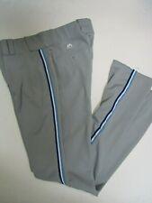 TORONTO BLUE JAYS THROWBACK GREY MAJESTIC PRO BASEBALL PANTS 32-42 WAIST