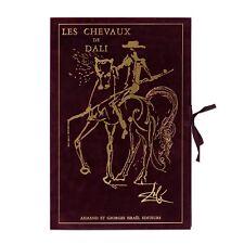 """Salvador Dali - Portfolio 18 Lithographs """"The Horses of Salvador Dali"""" (1983)"""