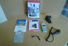 Nokia 3410 Mobile Phone + Mains & In Car Charger - T Mobile. VGC.