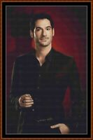 LUCIFER MORNINGSTAR cross stitch pattern PDF (point de croix) [TV]