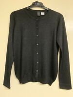 Ladies glitter xmas Cardigan Round Neck Button Long Sleeve Soft Knit Top BR199