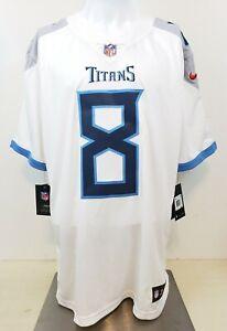 Nike Tennessee Titans Marcus Mariota Drifit Limited Jersey Size 2XL Sewn Stitch