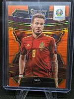 Saul 2020 Panini Select UEFA EURO Soccer Orange Refractor  /125 Spain 🔥🔥